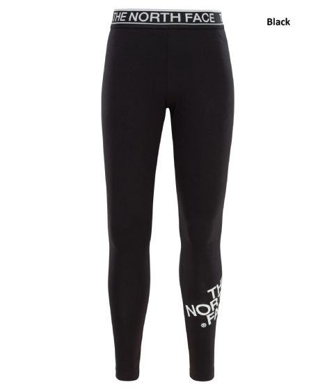 The North Face Girls Cotton Blend Leggings - Black or Grey